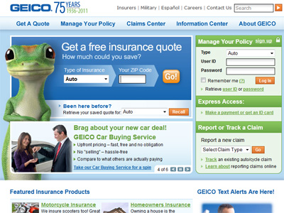 Geico Auto Insurance Quote Delectable Www.geico  Geico Online Car Insurance Quotes